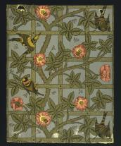 William Morris, Trellis wallpaper, 1860s, V&A Museum