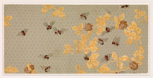 Wallpaper design by Candace Wheeler, 1881, Metropolitan Museum of Art